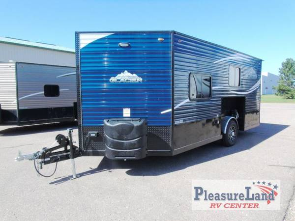 Photo 2020 Glacier Ice House Toy Hauler A164TH - Pleasureland RV Budget Lot - $25,643 (Pleasureland RV St Cloud Budget Lot)