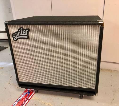 Photo Aguilar DB 115 400-watt 1x15quot Bass Cabinet Classic Black 8 Ohm - $500 (Sartell)