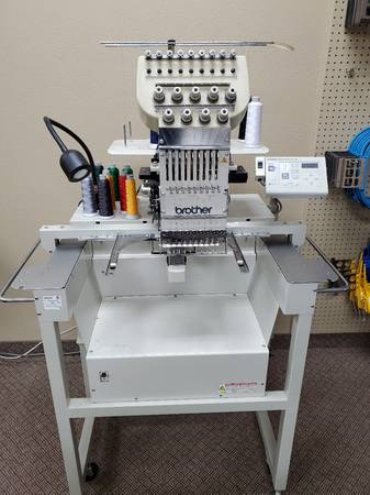 Photo Brother BE-0901E-AC-PC Embroidery Machine - $5000 (Holdingford)