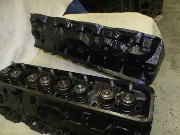 Photo Chevy Rebuilt Truck Cylinder Heads TBI 5.7 350 1985 to 1995 - $219 (Bloomington)