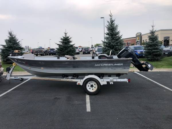 Photo Crestliner Fish Hawk Boat 16 FT - $4,000 (Willmar)