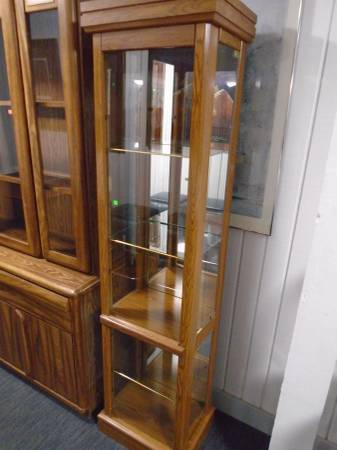 Photo Curio Cabinet - $95 (The Used Furniture Store - Saint Cloud MN)