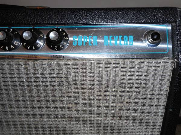 Photo Fender Super Reverb Vintage 1970s wextras - $1,650
