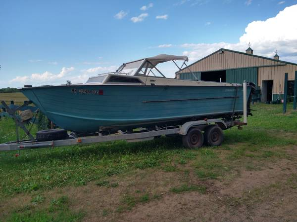 Photo Fishing Boat Starcraft Islander complete setup - $6500 (Saint Cloud)