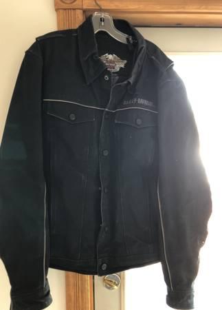 Photo Harley Davidson mens denim jacket - $100 (Clearwater)