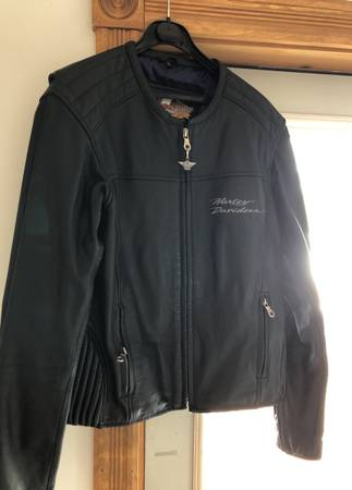 Photo Harley Davidson womens leather jacket - $200 (Clearwater)