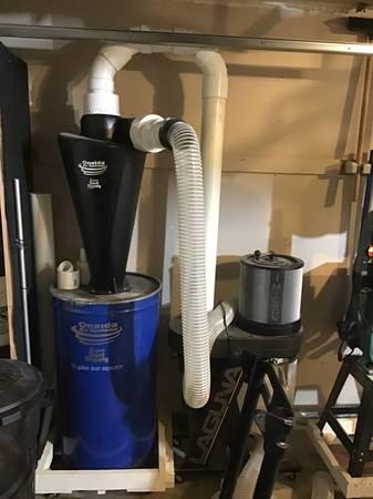 Photo Laguna dust collector and Oneida dust deputy xl - $875 (St. Cloud)