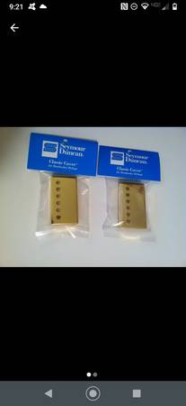 Photo Real Gold Duncan Humbuckers Covers - $40 (Albany)