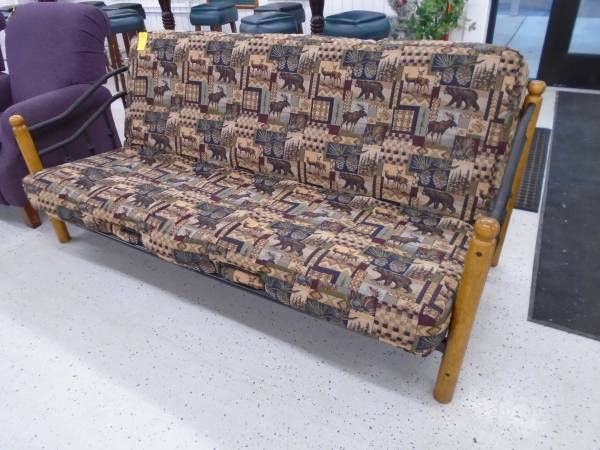Photo Rustic Futon - $195 (The Used Furniture Store - Saint Cloud MN)