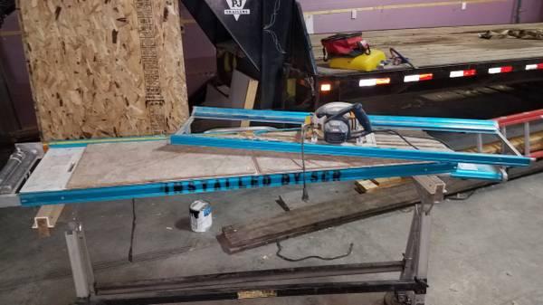 Photo Siding cutting table - $450 (Little falls)