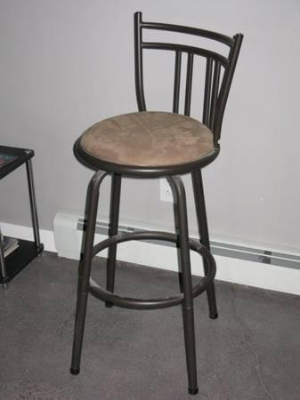 Photo Soft Seat Bronze Metal Bar Stool - $25.00 (Clear Lake, MN)