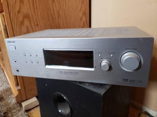 Photo Sony 5.1 Channel Digital Audio Reciever Surround Sound Speakers System - $85 (St. Joseph)