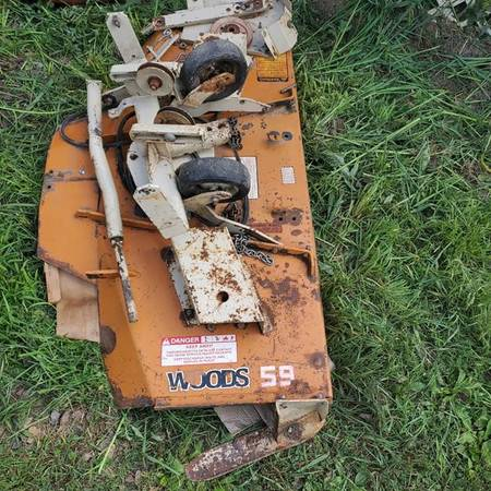 Photo WOODS 59 Belly Mower Deck - fits Farmall CUB and Lo-Boy - $500 (Wadena Area)