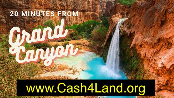 Photo 1.05 Acres Arizona 20 Minutes From Grand Canyon $4995 (Near Electricity, hotels, gas stations, restaurants,)