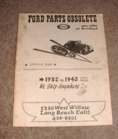 Photo 1968 Ford Parts Obsolete catalog - $9 (Scottsdale)