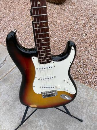 Photo 1970 Fender Stratocaster wHsc  Cert. Of Authenticity - $7,000 (Gilbert)