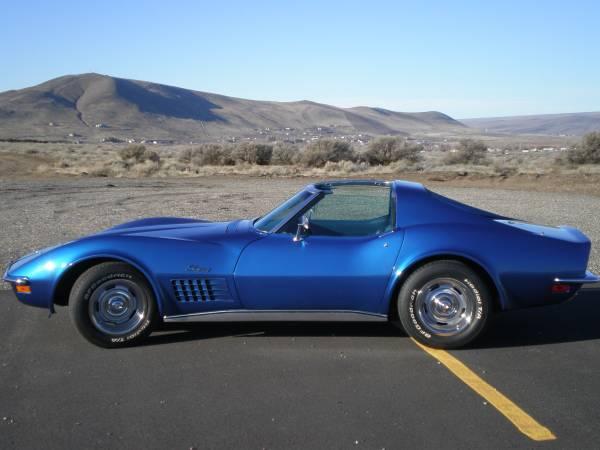 Photo 1972 Corvette Stingray - $28000 (Kanab)