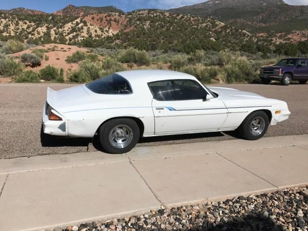 Photo 1979 Camaro - $5500 (Cedar City)