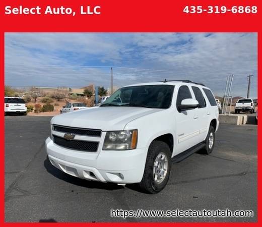Photo 2011 Chevy TAHOE LS 4x4 with third row seating one owner clean carfax - $9995 (Santa Clara)