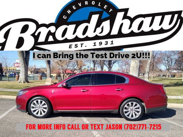 Photo 2013 LINCOLN MKS... HAS EVERY AVAILABLE OPTION AND ONLY 80K MILES - $14,199 (I can bring the Test Drive 2U)