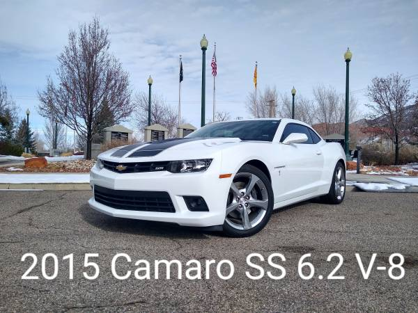 Photo 2015 CHEVROLET CAMARO SS W6.2L V-8-THE CLASSIC AMERICAN MUSCLE CAR - $19788 (I CAN BRING THE TEST DRIVE 2U)