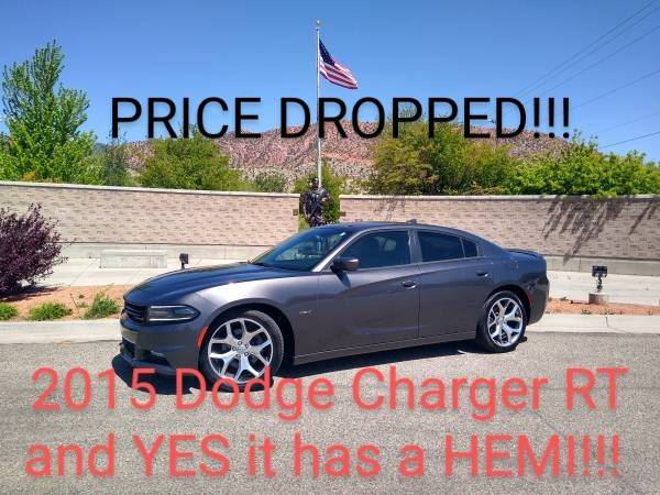 Photo 2015 DODGE CHARGER RT 5.7 HEMI- THIS IS A Classic American Muscle Car - $20399 (Cedar City)