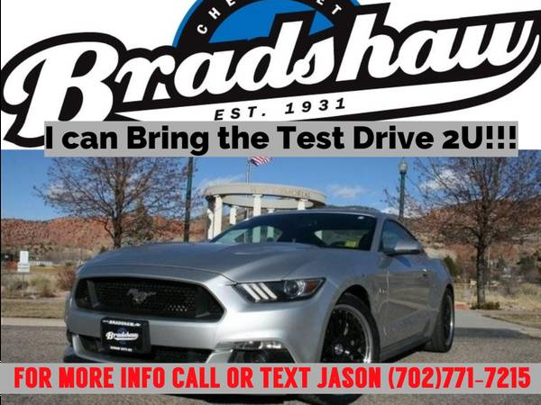 Photo 2017 FORD MUSTANG GT Fastback 5.0L V-8-Classic American Muscle Car - $25,999 (I can bring the Test Drive 2U)
