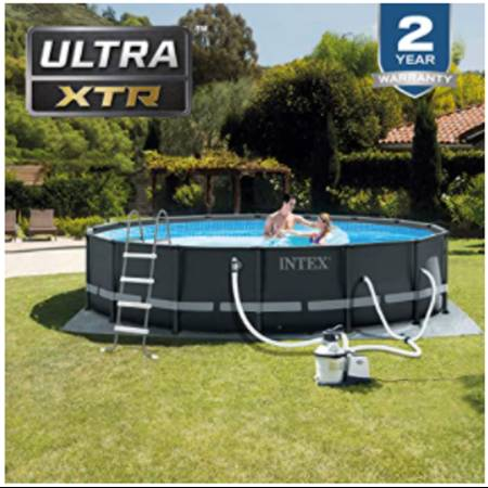 Photo Above ground pool - $800 (Bunkerville)