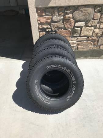 Photo All terrain tires 31x10.5R15 - $450 (Cedar City)