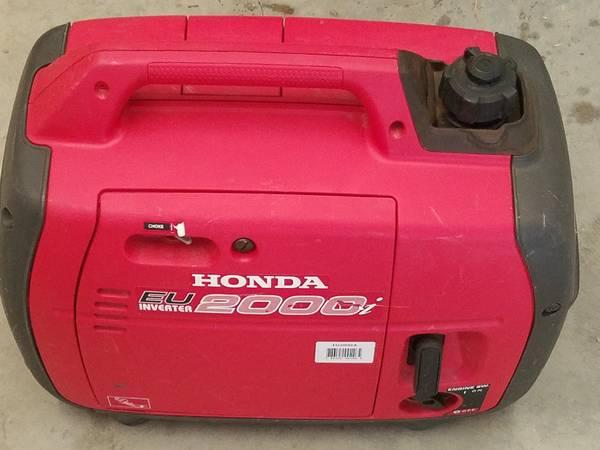 Photo Almost New Honda 2000 Generator - $749 (Hurricane UT)