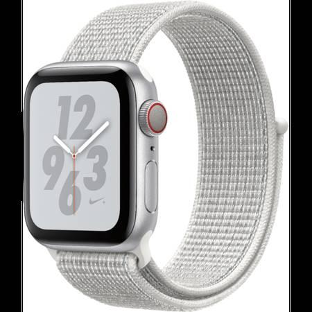 Photo Apple Watch NIKE - Series 4 - 40mm - Cellular - Silver AluminumSummi - $349 (EasternSunsetBDIT)