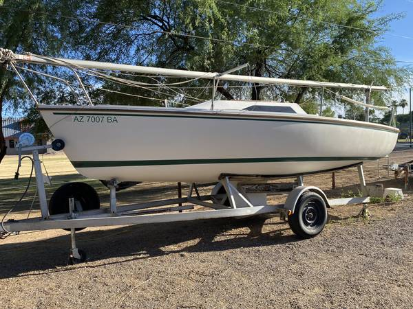 Photo CATALINA CAPRI 22 WING KEEL SAILBOAT - $7,500 (Sailboat Shop Scorpion Bay Marina Lake Pleasant)