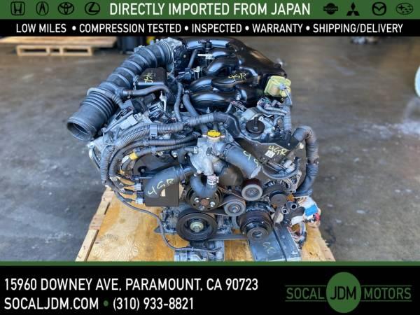 Photo JDM 2006 TO 2012 LEXUS IS250 2.5L RWD V6 4GR 4GRFSE MOTOR ENGINE - $800 (Paramount)
