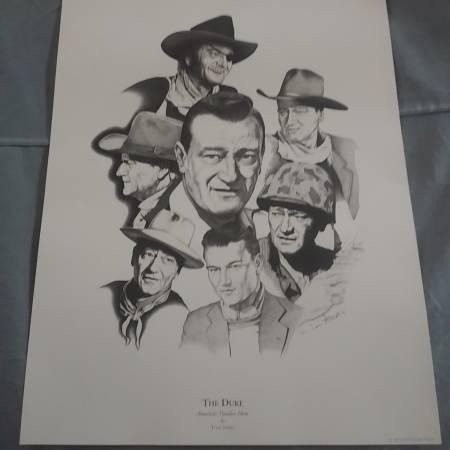 Photo John Wayne poster - $6 (St George)