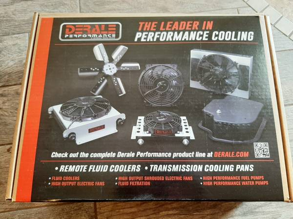 Photo New Jeep Wrangler YJ TJ Derale Transmission Cooler Kit - $280 (St. George)