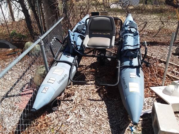 Photo Pontoon float tube boat - $350 (St. George)
