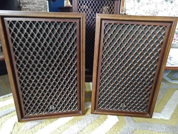Photo Sansui SP-50 Speakers - $40 (Cedar City)