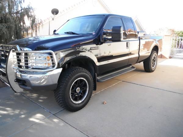 Photo Super Clean 2000 F-250 4x4 7.3 Powerstroke Diesel - $9000 (SAINT GEORGE)