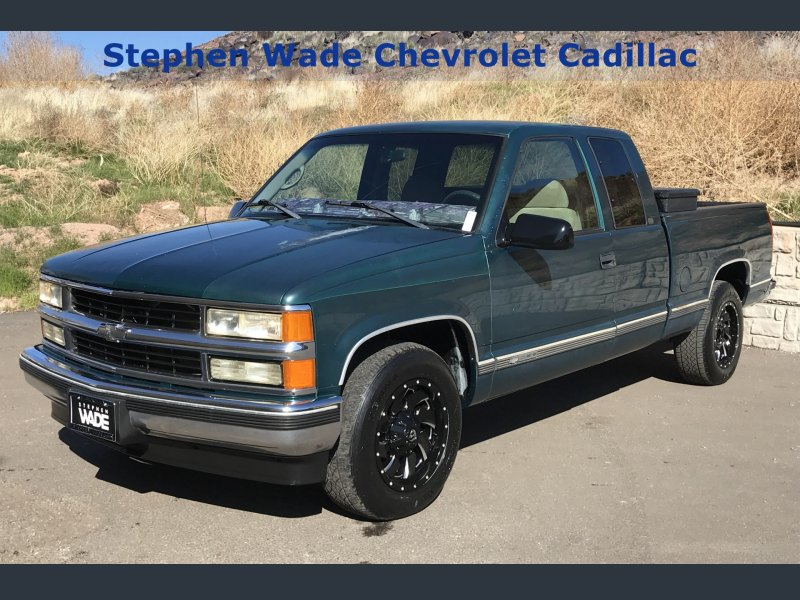 Photo Used 1998 Chevrolet Silverado 1500 2WD Extended Cab for sale