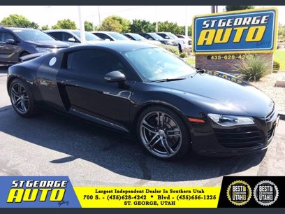 Photo Used 2009 Audi R8 4.2 Coupe for sale