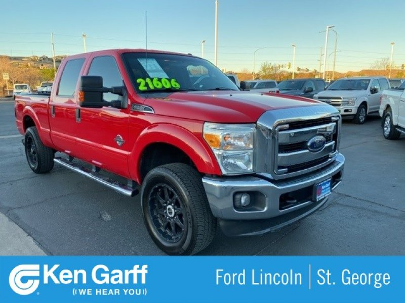 Photo Used 2013 Ford F250 4x4 Crew Cab Super Duty for sale