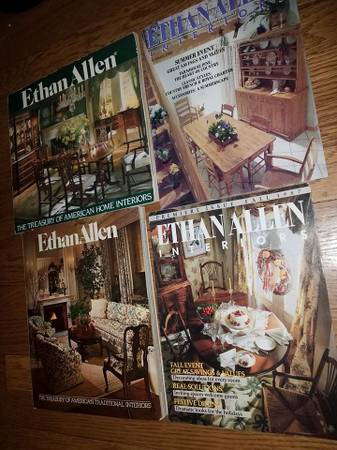 Photo Vintage 1979-88 ETHAN ALLEN Furniture Catalogs - $50 (Kanab)