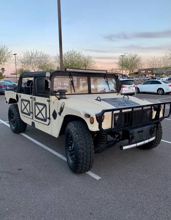 Photo WTT Humvee for Wakeboarding Boat - $28,000 (NE Mesa)