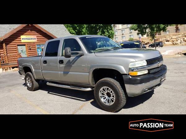 Photo 2002 Chevrolet Silverado 2500 HD Crew Cab Short Bed    - $10695