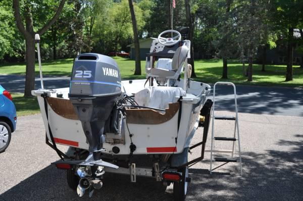 Photo 14 foot Marathon fishing boat - $6,200 (Oak Park Hts)