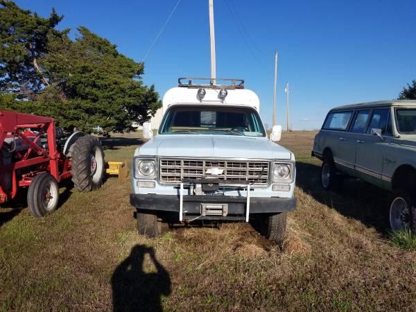 Photo 1977 Chevy K20 - $6000 (Stillwater Ok)