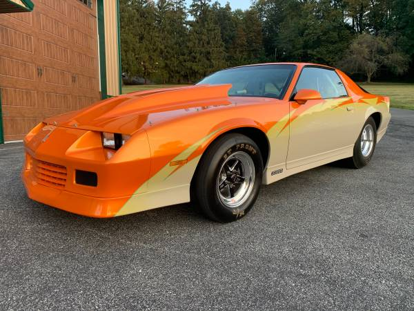 Photo 1988 CHEVY CAMARO - DRAG  NO PREP  SHOW CAR - $38,500 (YORK)