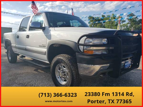 Photo 2002 Chevrolet Silverado 2500 HD Crew Cab - Financing Available - $13995