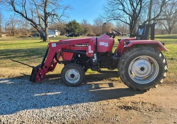 2008 Mahindra 4025 Tractor w Loader - $11,500 (Braggs)