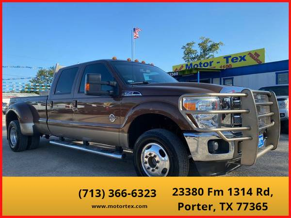 Photo 2011 Ford F350 Super Duty Crew Cab - Financing Available - $32,995